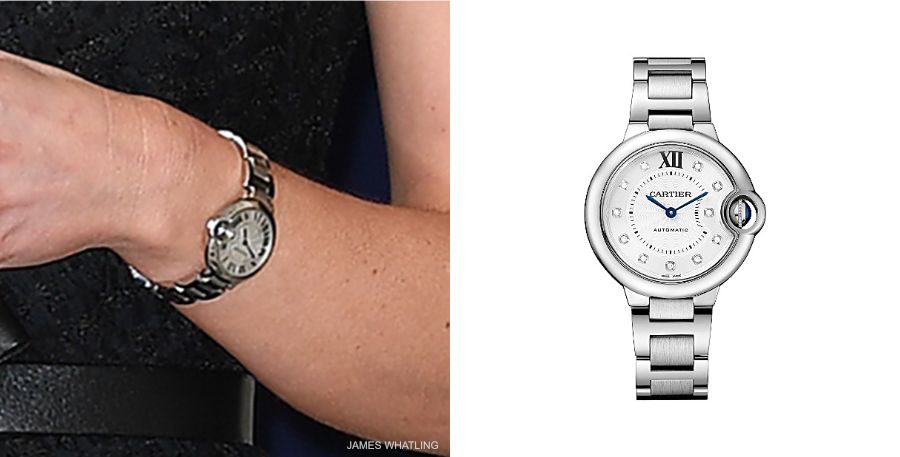 Kate Middleton's Cartier watch