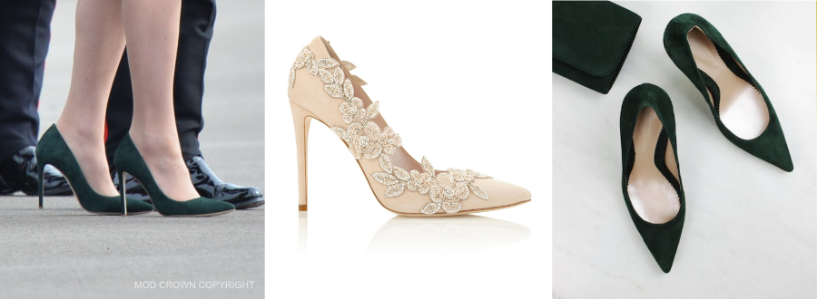Kate Middleton Emmy Shoes