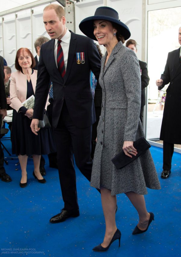 Kate Middleton's outfit at the war memorial service