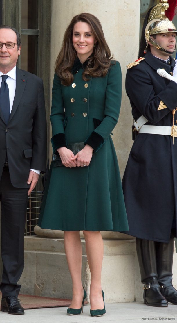 Kate Middleton's outfit in Paris