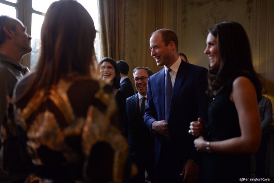 Prince William and Kate Middleton in Paris