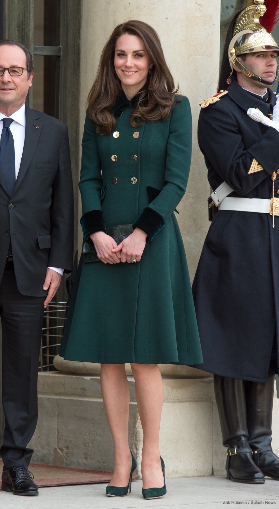 William And Kate Meet President Fran Ois Hollande In Paris Kate Middleton Style Blog