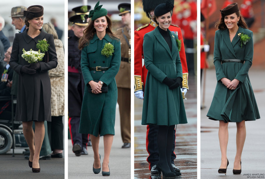 Kate Middleton on St Patrick's Day in Previous Years