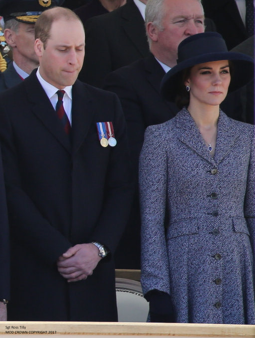 Kate attends Iraq & Afghanistan memorial unveiling in London