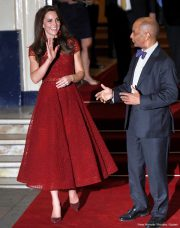 Kate Middleton at the opening of the 42nd Street Musical