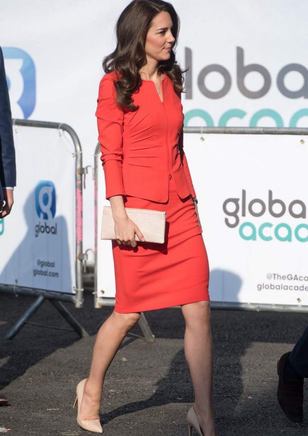William, Kate & Harry officially open the Global Academy