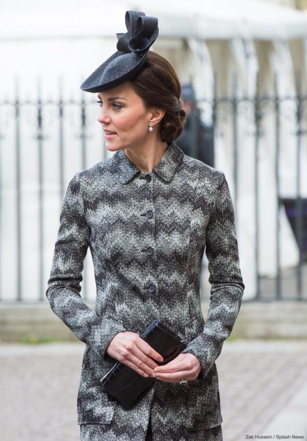 Duchess of Cambridge attends the Service of Hope