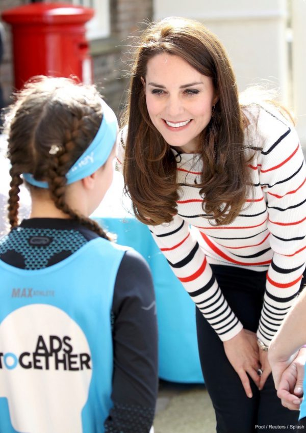 Kate hosts a reception for runners at Kensington Palace