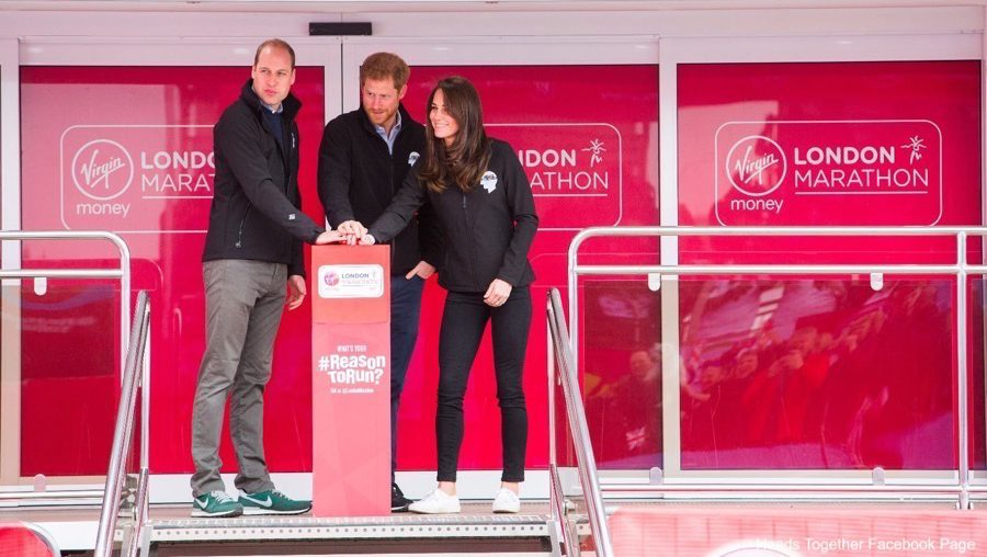 Kate Middleton at the London Marathon