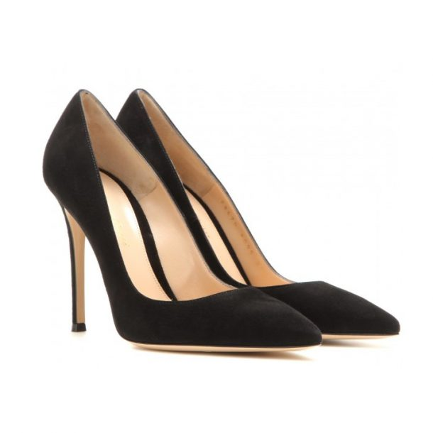 Gianvito Rossi 105 pumps in black suede