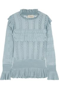 Temperley London Cypre Top in blue
