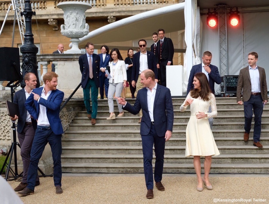Kate Middleton at the Party at the Palace event