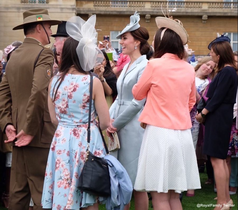 Kate Middleton at the Garden Party in 2017