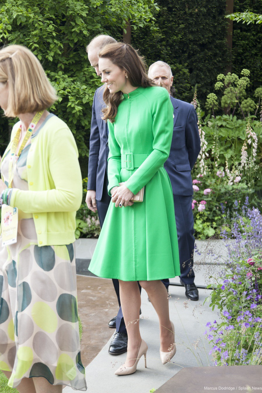 Kate Middleton at the Chelsea Flower Show in 2016