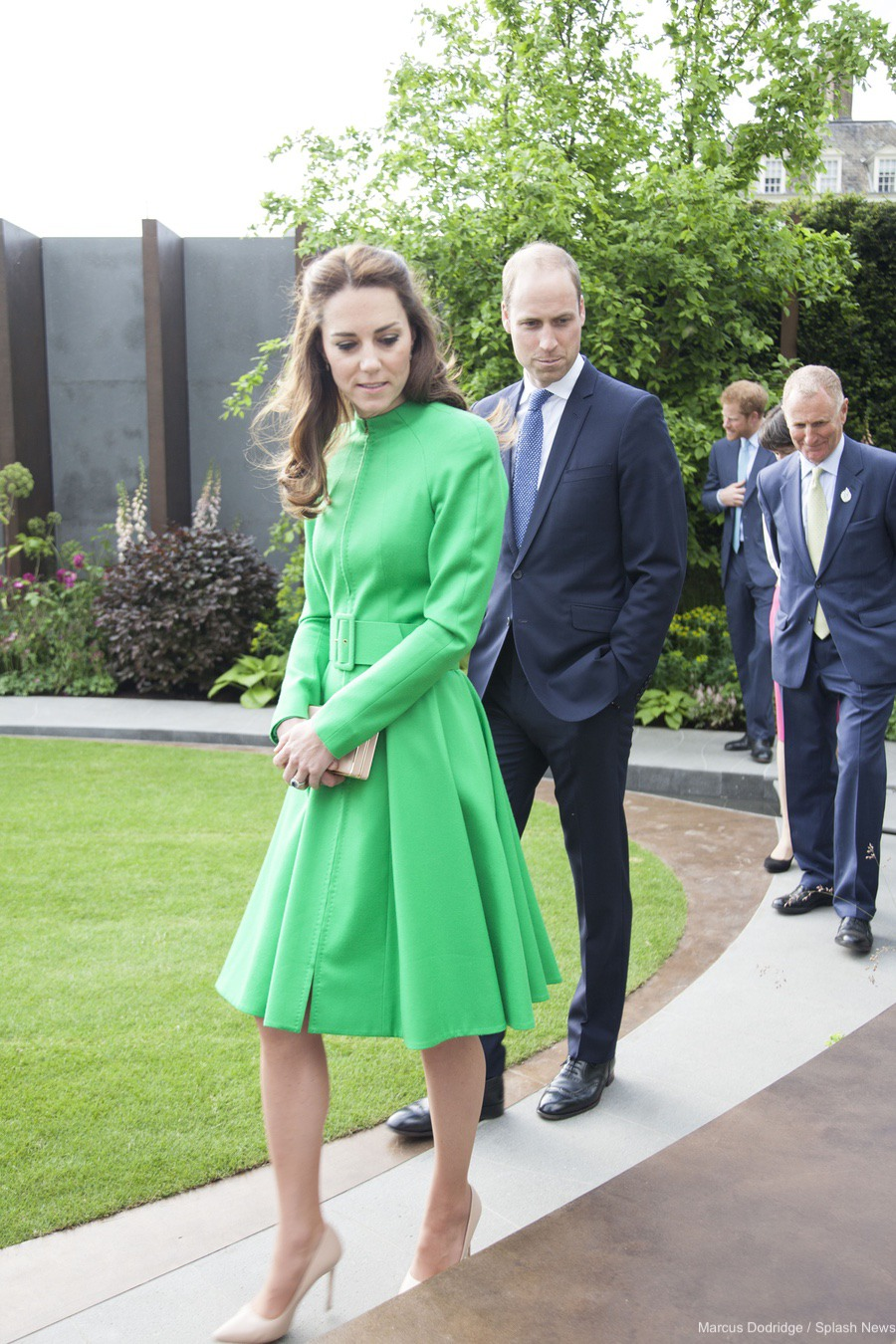 Kate Middleton's outfit at the Chelsea Flower Show in 2016