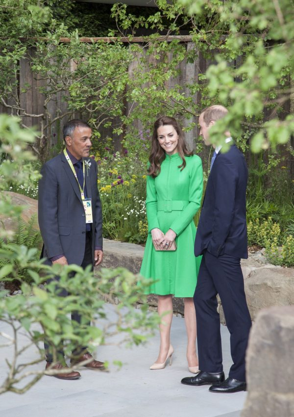 William and Kate at the 2016 Chelsea Flower Show