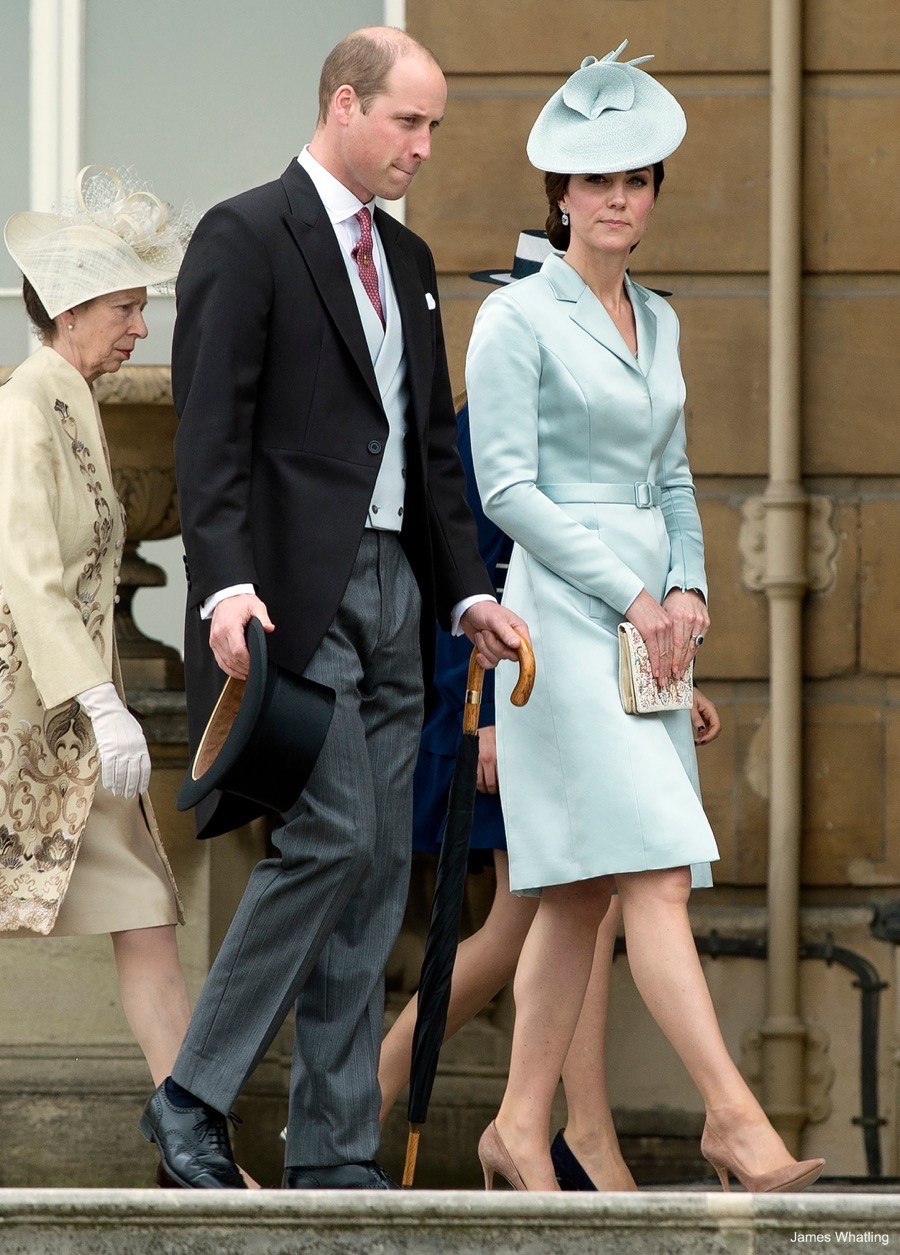 Kate Middleton wearing Christopher Kane at the Garden PArty