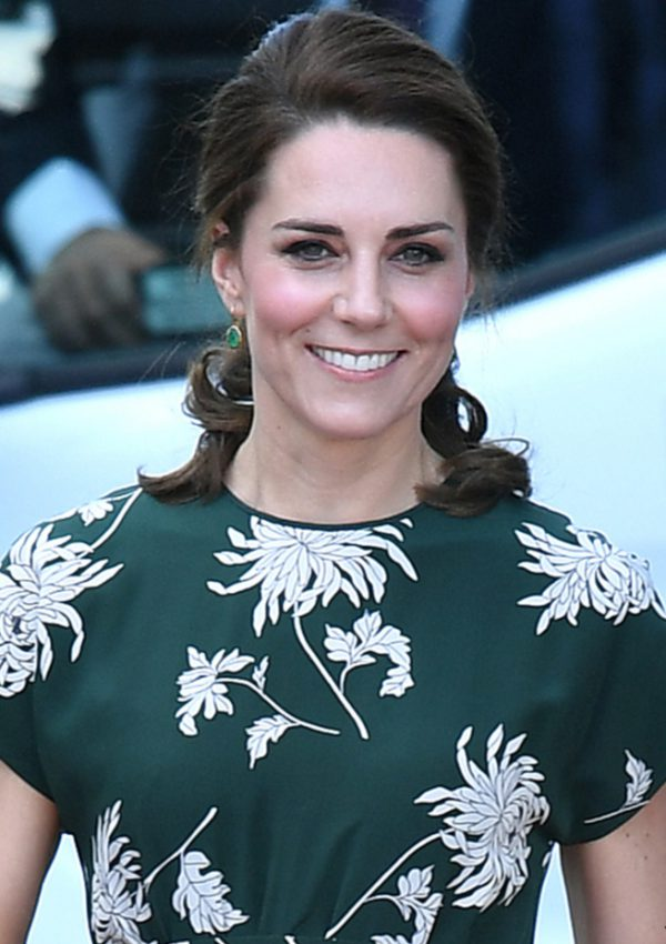Kate attends the 2017 Chelsea Flower Show