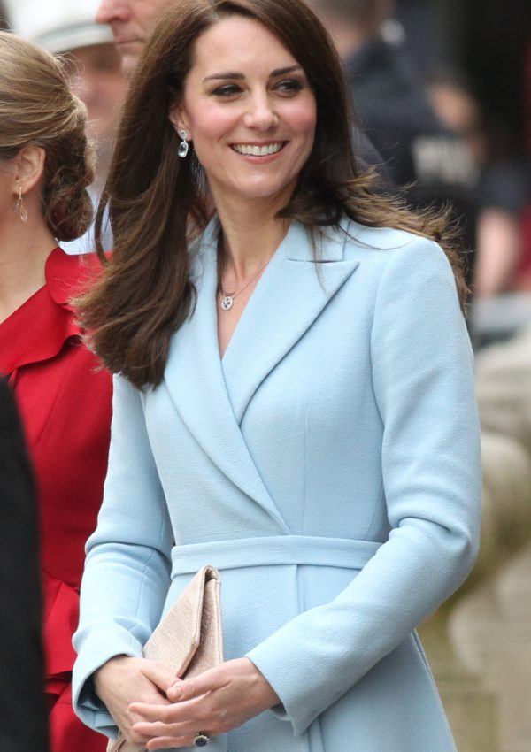 The Duchess of Cambridge kate Middleton attends the celebration of the 150th anniversary of the Treaty of London in Luxembourg