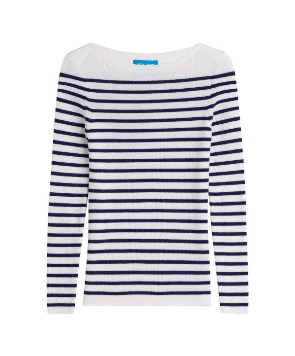 "M.i.H ""Drew"" Striped Wool Pullover"