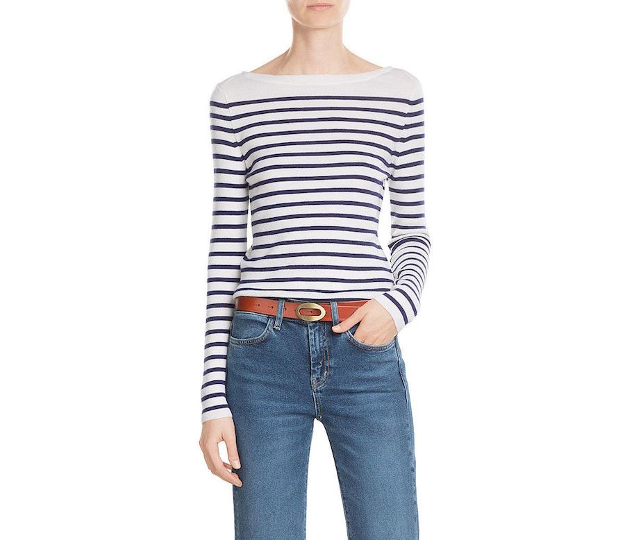 MIH Drew Stripe Wool Pullover