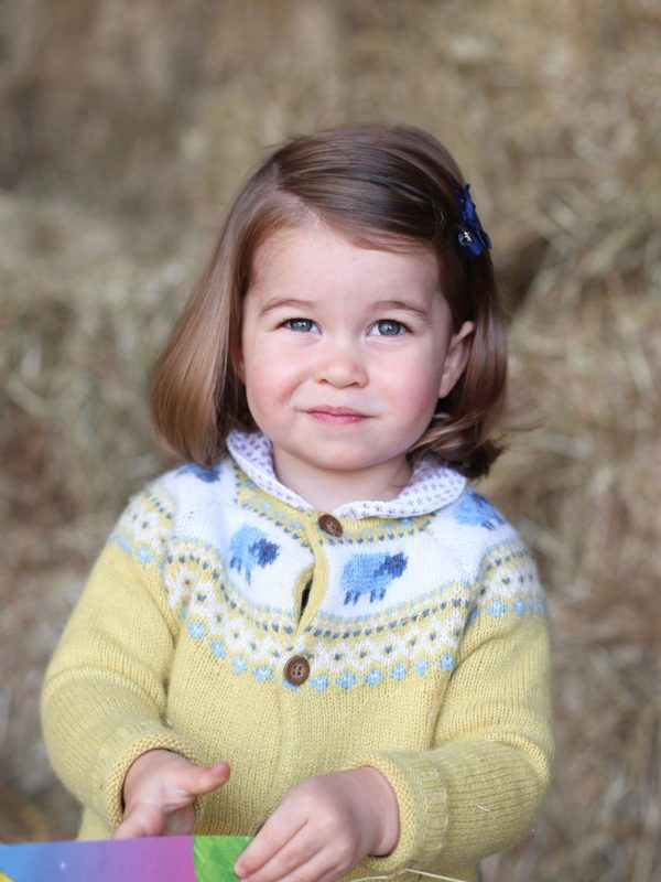 Princess Charlotte's second birthday photo snapped by Kate
