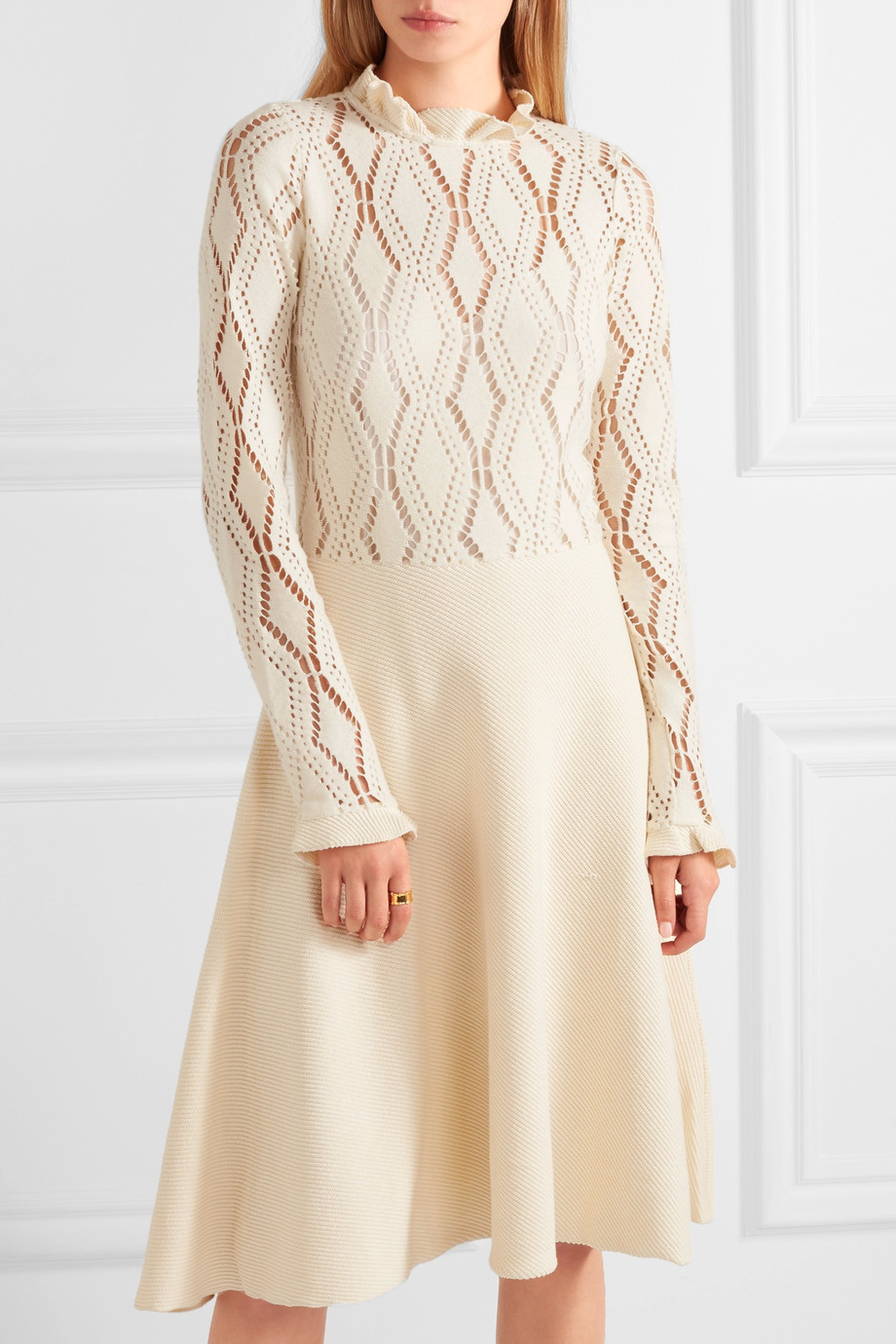 Cream See by Chloé dress