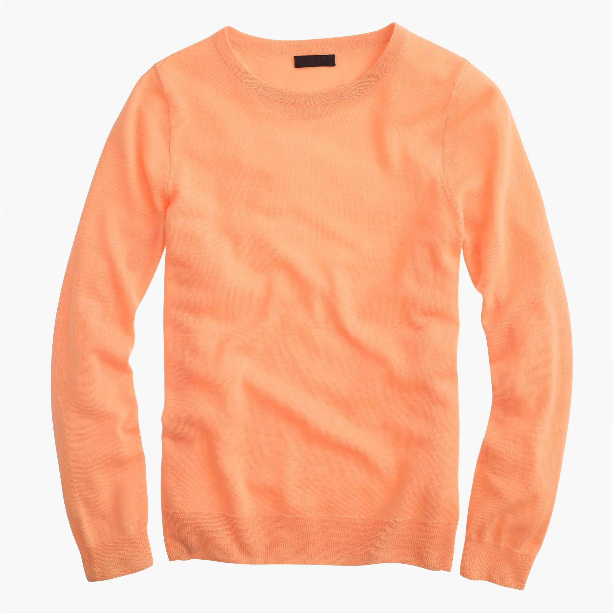 JCrew sweater in orange