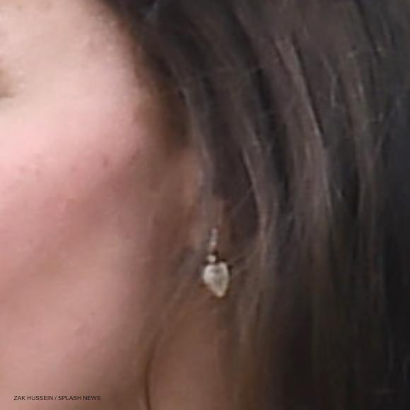 Kate Middletons Lauren leaf earrings