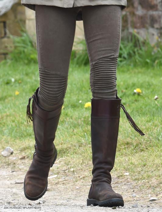 Kate Middleton's Zara Jeans on the farm