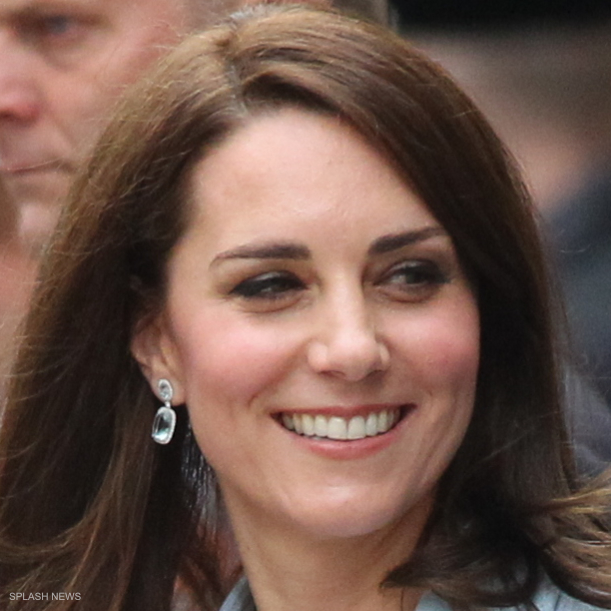 Kate Middleton's earrings in Luxembourg