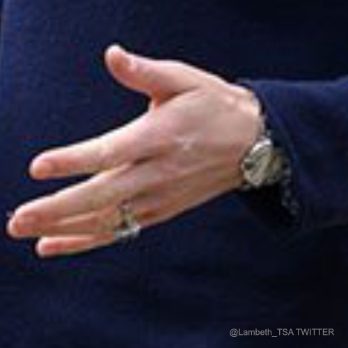 Kate Middleton wearing her cartier watch