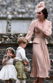 Kate Middleton at Pippa Middleton and James Matthews' wedding