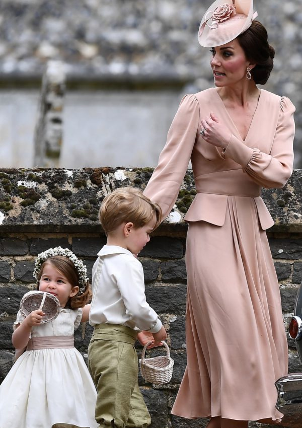 Kate chooses Alexander McQueen dress for Pippa Middleton's wedding