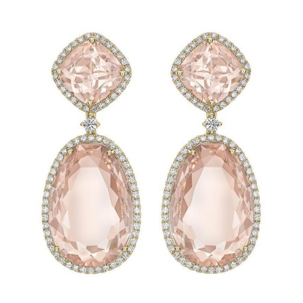 Kate Middleton's new pink morganite Kiki McDonough earrings