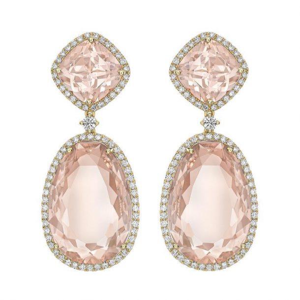 Kate Middleton's new pink morganite Kiki McDonough earrings
