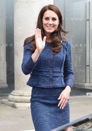 Kate Middleton visits the survivors of the London Bridge Terror Attacks