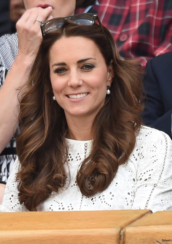 Kate wears her white Zimmermann dress to Wimbledon