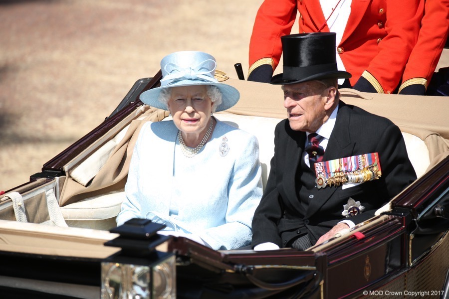 Trooping the Colour is the celebration of the Queen's Official birthday