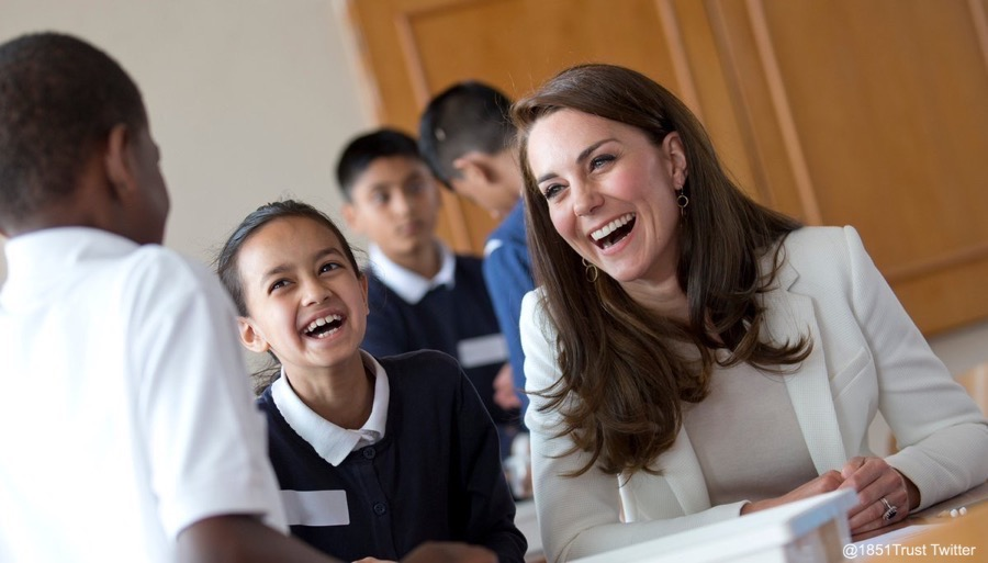 Kate Middleton at the 1851 Trust Roadshow