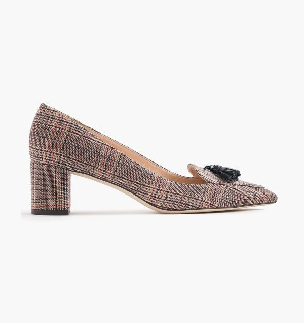 J.Crew Avery heels in tweed