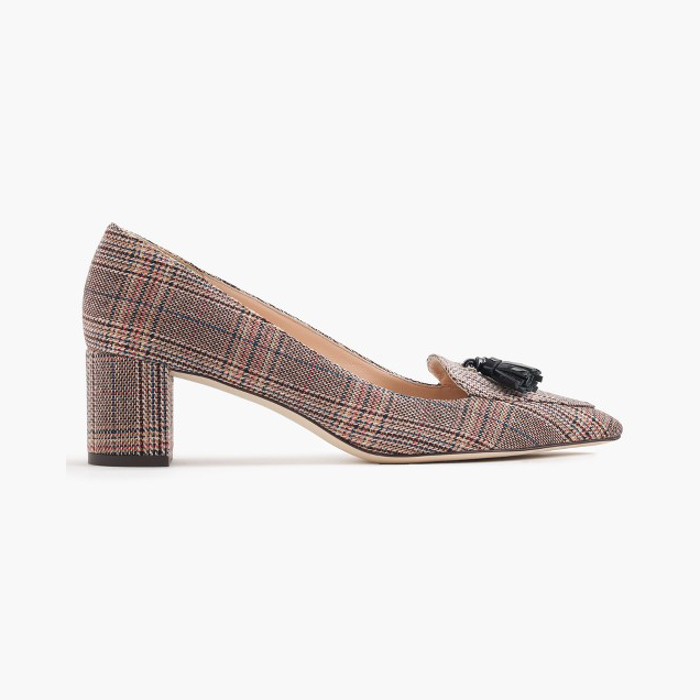 JCrew Tweed Heels