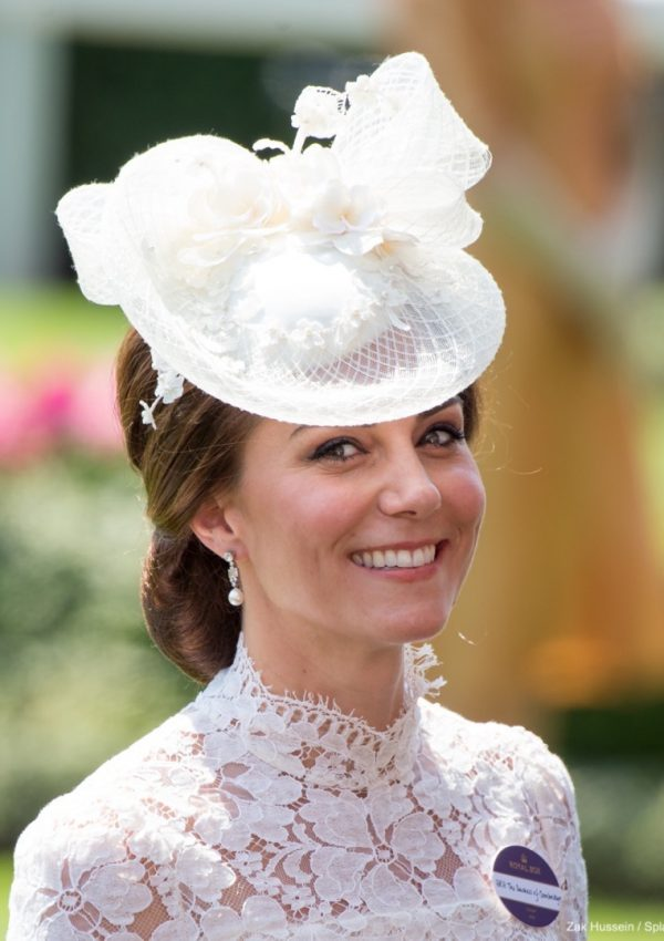 William and Kate join the Queen at Royal Ascot