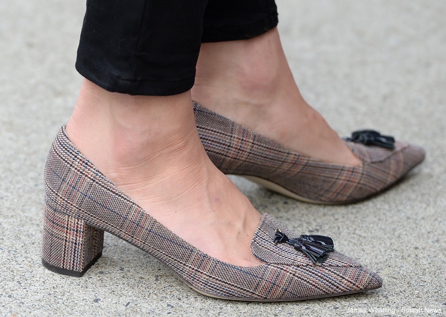 Kate Middleton wearing the JCrew Avery shoes