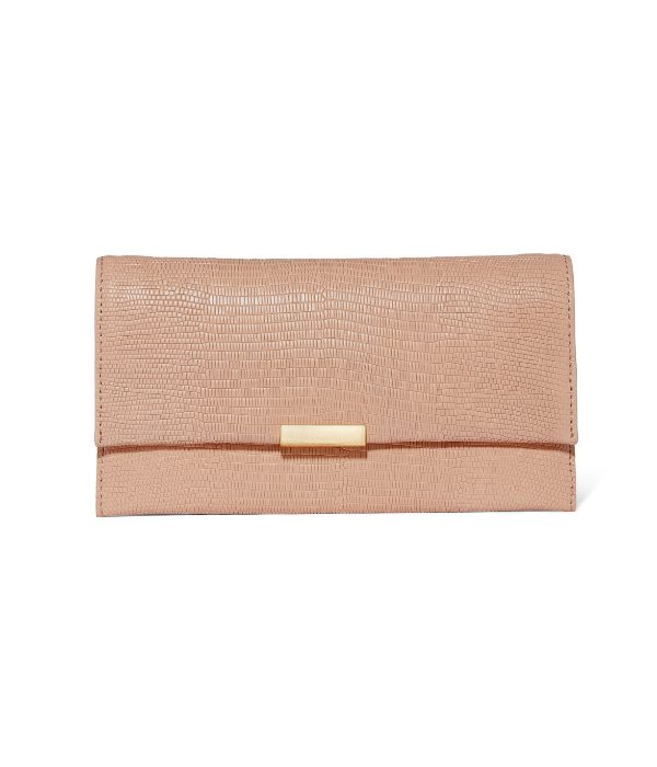 Loeffler Randall Tab Clutch in Blush