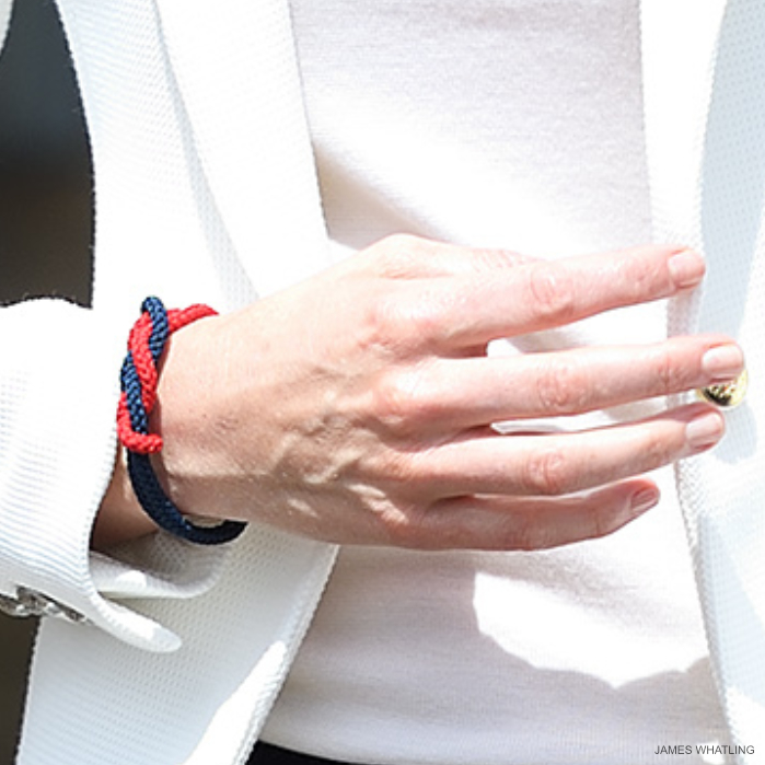 Kate Middleton wearing the 1851 Trust's Band of Britain