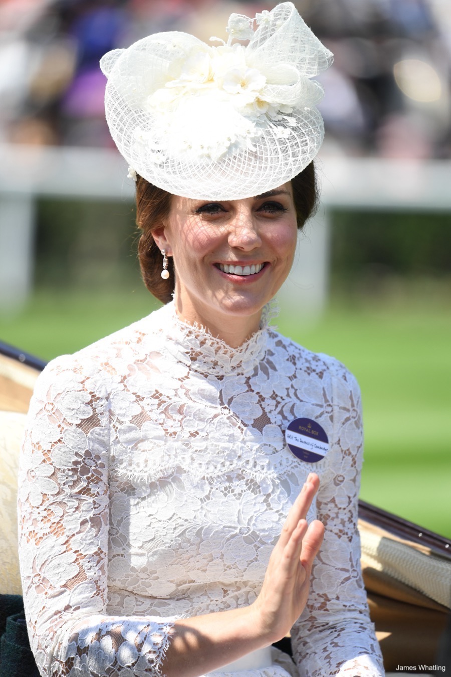 Kate Middleton at Ascot 2017