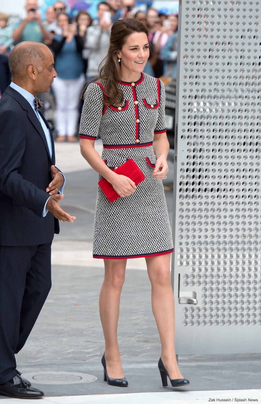 Kate Wears Gucci To Visit The V A 39 S Exhibition Road Quarter Kate Middleton Style Blog