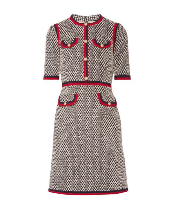 Gucci Tweed Mini Dress