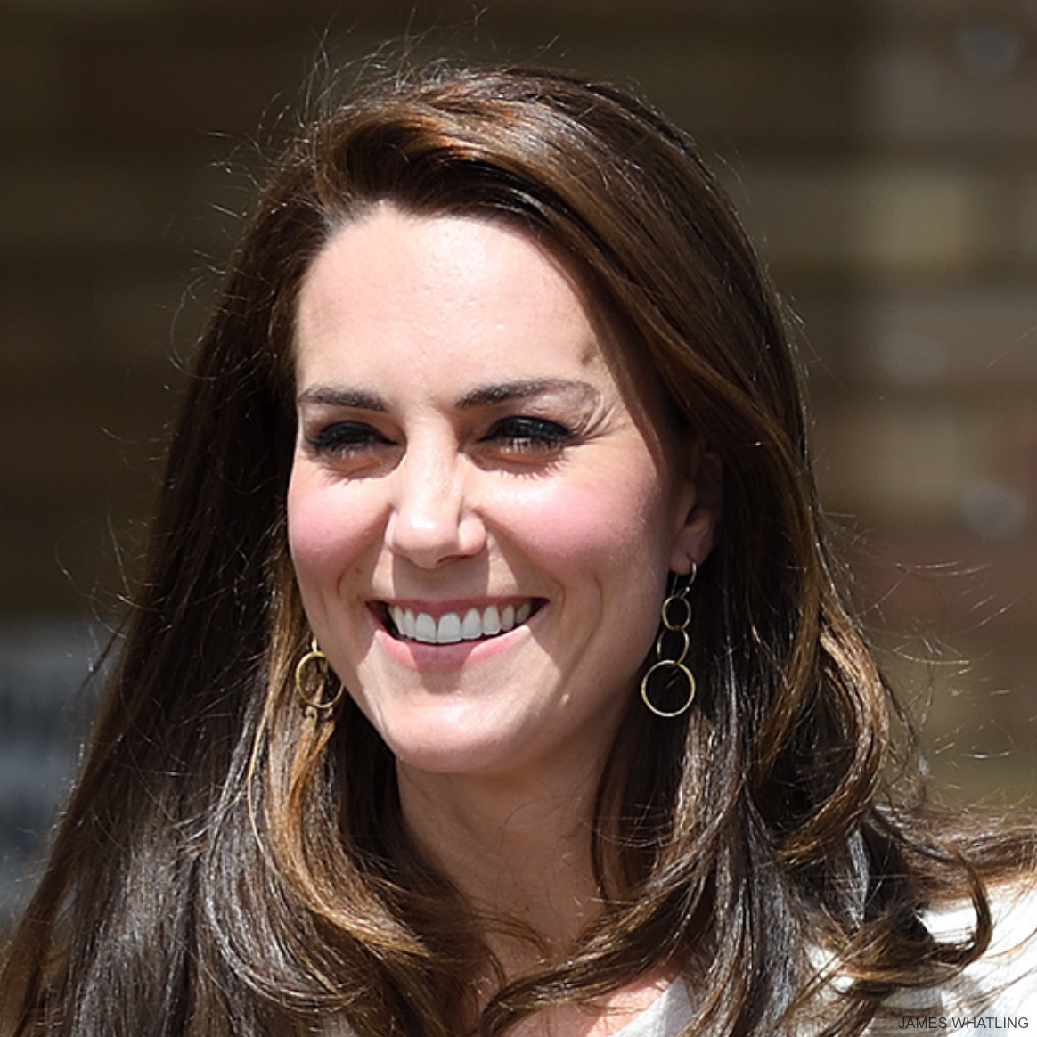 Kate Middleton wearing Mirabelle earrings